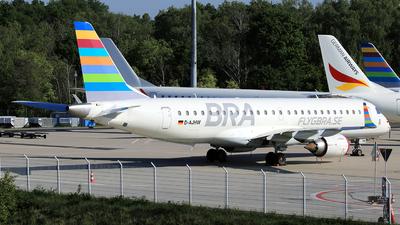 D-AJHW - Embraer 190-100LR - Braathens Regional (German Airways)