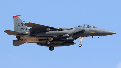 01-2004 - Boeing F-15E Strike Eagle - United States - US Air Force (USAF)