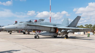 188783 - McDonnell Douglas CF-188 Hornet - Canada - Royal Air Force