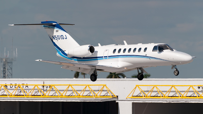 N501DJ - Cessna 525B CitationJet 3 - Private