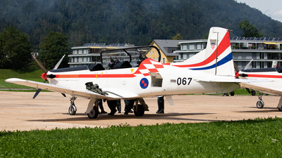 067 - Pilatus PC-9M - Croatia - Air Force
