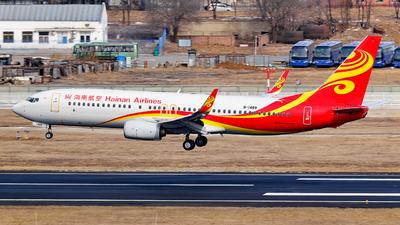 B-1489 - Boeing 737-84P - Hainan Airlines