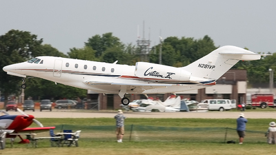 N281VP - Cessna 750 Citation X - Private