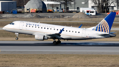 A picture of N857RW - Embraer E170SE - United Airlines - © mariaPGAer