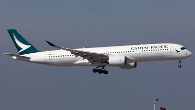 A picture of BLRT - Airbus A350941 - Cathay Pacific - © Nestor Hung