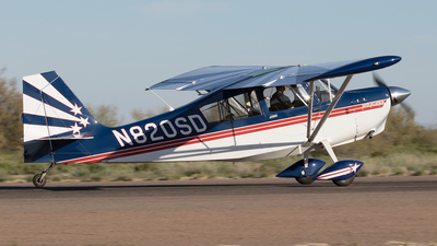 A picture of N820SD - American Champion 8KCAB - [82098] - © Felipe Garcia