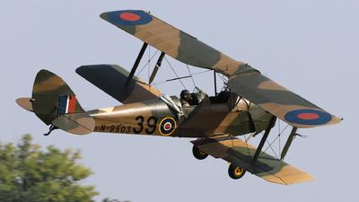 G-ANFP - De Havilland DH-82A Tiger Moth - Private
