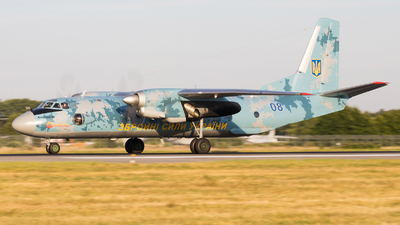 08 - Antonov An-26 - Ukraine - Air Force