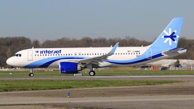 F-WWBC - Airbus A320-251N - Interjet