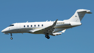 N350KM - Bombardier BD-100-1A10 Challenger 350 - Private