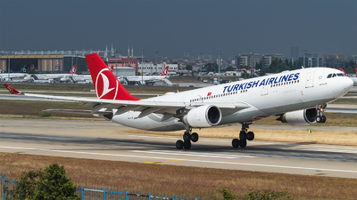 TC-JND - Airbus A330-203 - Turkish Airlines