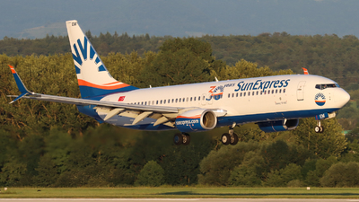 A picture of TCSEM - Boeing 7378HC - SunExpress - © Justin Stöckel