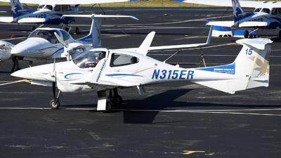 N315ER - Diamond DA-42 NG Twin Star - Embry-Riddle Aeronautical University (ERAU)