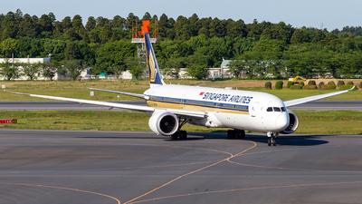 9V-SCM - Boeing 787-10 Dreamliner - Singapore Airlines