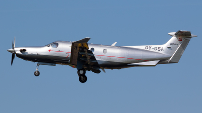 OY-GSA - Pilatus PC-12/45 - Widex