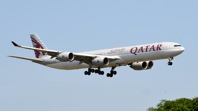 A7-AGC - Airbus A340-642X - Qatar Airways