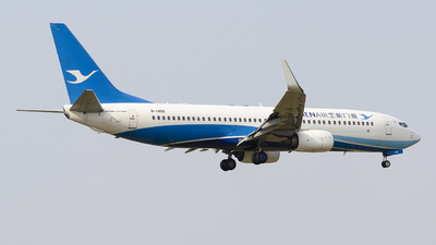 A picture of B1456 - Boeing 73785C - Xiamen Air - © StephenLian-NGB