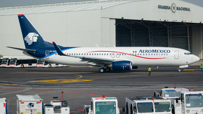 A picture of XAOOO - Boeing 7378FZ - Aeromexico - © Ricardo Mungarro - MAS Aviation Press