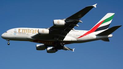 A6-EDO - Airbus A380-861 - Emirates