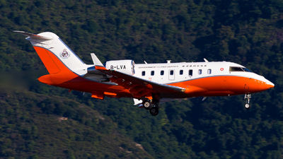 B-LVA - Bombardier CL-600-2B16 Challenger 605 - Hong Kong - Government Flying Service (GFS)