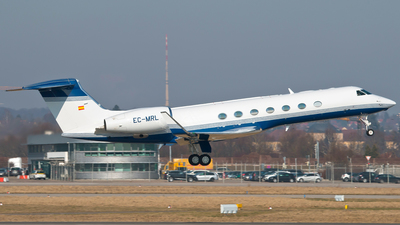 EC-MRL - Gulfstream G550 - Gestair Private Jets