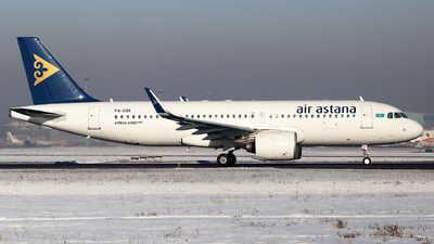 P4-KBK - Airbus A320-271N - Air Astana