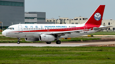 A picture of B2299 - Airbus A319133 - Sichuan Airlines - © CGO_Leo Spotter