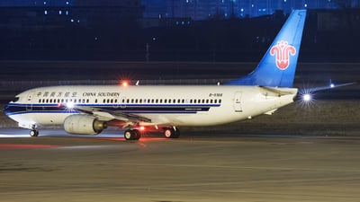 A picture of B5166 - Boeing 73781B - China Southern Airlines - © Levine