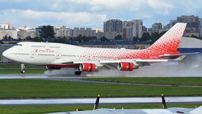 A picture of EIXLJ - Boeing 747446 - Rossiya - © Oleg Chaplin