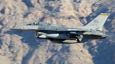 91-0473 - General Dynamics F-16D Fighting Falcon - United States - US Air Force (USAF)