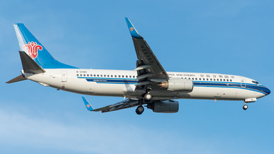 A picture of B5190 - Boeing 73781B - China Southern Airlines - © xuhaoqing995
