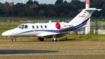 D-IGEA - Cessna 525 Citationjet CJ1+ - Private