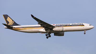 9V-STV - Airbus A330-343 - Singapore Airlines