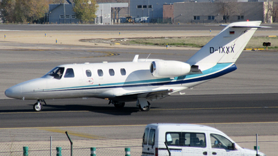 D-IXXX - Cessna 525 CitationJet 1 - FSH Luftfahrtunternehmen