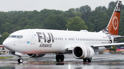 A picture of DQFAF - Boeing 737 MAX 8 - Fiji Airways - © PrestonFiedler