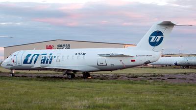 N757AV - Bombardier CRJ-200LR - UTair Aviation