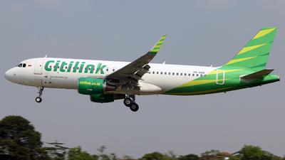 PK-GQA - Airbus A320-214 - Citilink