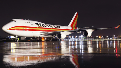 A picture of N741CK - Boeing 7474H6(BCF) - Kalitta Air - © Tim Bowrey