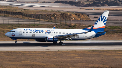 A picture of TCSOO - Boeing 7378AS - SunExpress - © Emre Tanrivermis