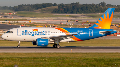 A picture of N314NV - Airbus A319111 - Allegiant Air - © Sam Paley