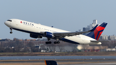 A picture of N188DN - Boeing 767332(ER) - Delta Air Lines - © Rocky Wang