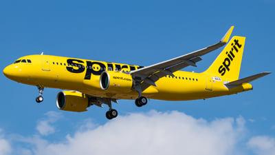 F-WWDD - Airbus A320-271N - Spirit Airlines