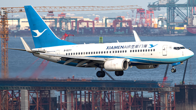 B-5277 - Boeing 737-75C - Xiamen Airlines