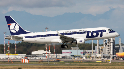 SP-LIN - Embraer 170-200LR - LOT Polish Airlines