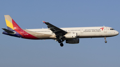 HL7763 - Airbus A321-231 - Asiana Airlines