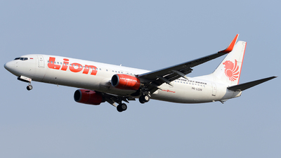 PK-LGW - Boeing 737-9GPER - Lion Air