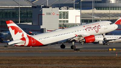 A picture of CGFCH - Airbus A320214 - Air Canada Rouge - © Tianyi Liu