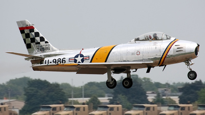 N188RL - North American F-86F Sabre - Private
