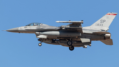 90-0833 - General Dynamics F-16CM Fighting Falcon - United States - US Air Force (USAF)
