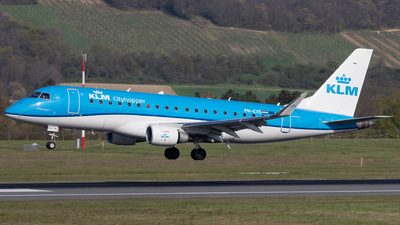 PH-EXS - Embraer 170-200STD - KLM Cityhopper